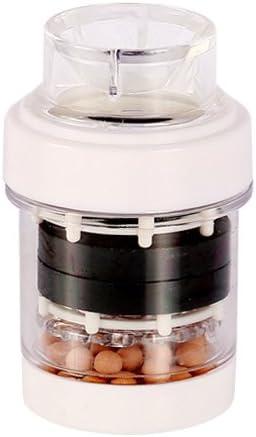 El agua del grifo pequeño filtro purificador de agua Filtro de agua de grifo para cocina suministros médicos,blanco de piedra: Amazon.es: Hogar
