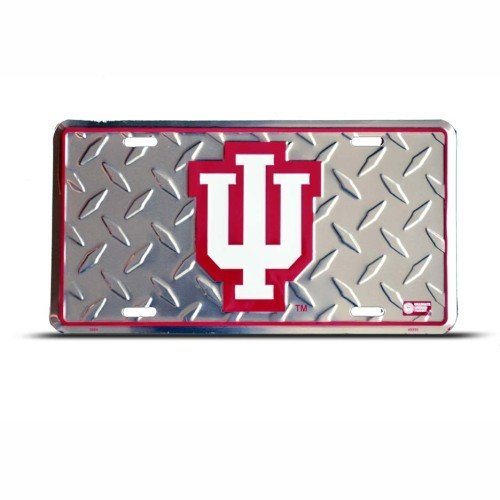 Metal Indiana Hoosiers (Indiana Hoosiers Metal College License Plate Wall Sign Tag)