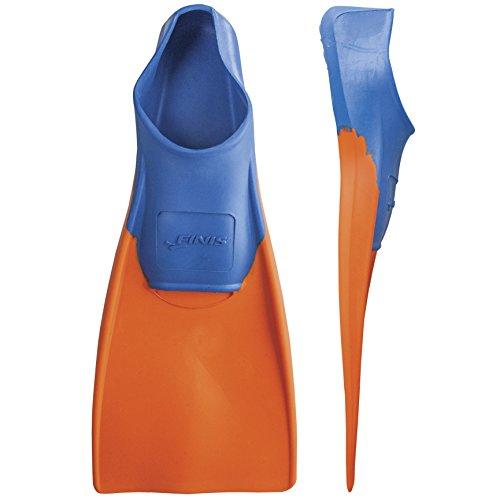 FINIS Long Floating Fins , Blue/Orange, XXS (Jr. 11-1)