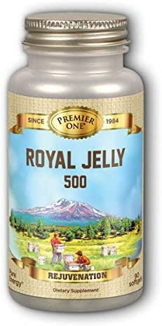 Premier One Royal Jelly 500 Mg Multivitamins with Minerals, 90 Count