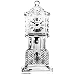 CRYSTAL CROWN GRANDFATHER CLOCK - Clock