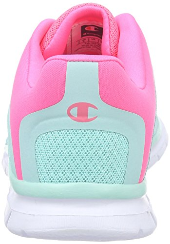 Champion Low Cut Shoe ALPHA G YOUTH - Zapatillas de Entrenamiento Niñas Verde - Grün (Mint green 76)