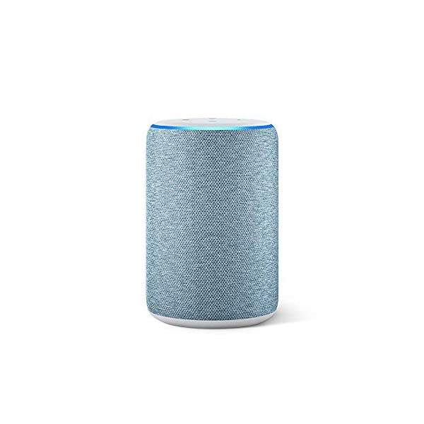 419Vz3miz L Amazon Echo (3rd Gen) – Improved sound, powered by Dolby (Blue)