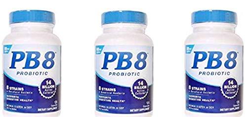 Nutrition Now Pb 8 Pro-biotic Acidophilus for Life (120 x 3)