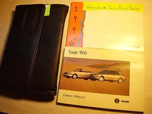1996 saab 900 owners manual saab amazon com books rh amazon com 1997 saab 900s owners manual saab 900 turbo service manual