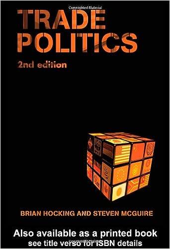 Trade Politics: Textbook: Amazon co uk: Brian Hocking