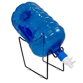 Grifo y Soporte Alto,dispensador de Agua Manual para garrafas,dispensador, Dispensador Simples sobremesa,Agua en Casa Comedor Cocina Oficina Fácil de Usar y ...