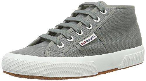Superga 2754 Cotu, Unisex Adults' Hi-Top Sneakers Grey (Grey Sage)