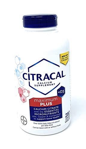 Citracal® Maximum Calcium Citrate + D3, 280 Caplets