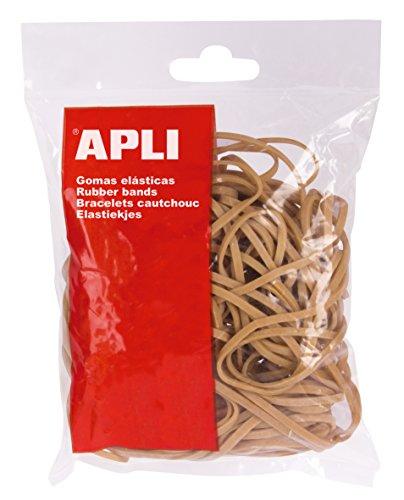 APLI 12858 - Pack de 300 gomas elasticas, 160 x 3 mm