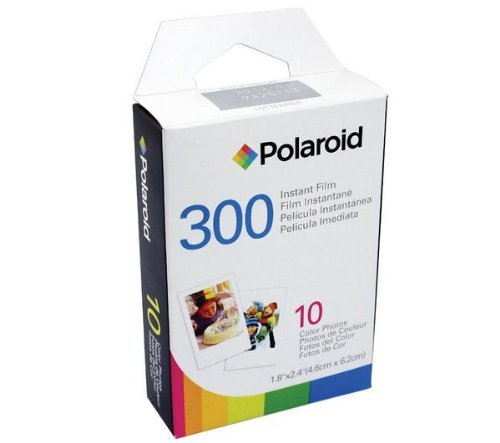 Polaroid PIF-300 Instant Film for 300 Series Cameras -7 PACK Micro Fiber Cloth (Polaroid Camera Pogo)