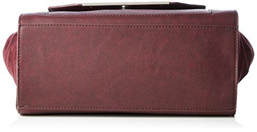 Marco Tozzi 61011, Bolsa de Asa Superior para Mujer, 37x23x13 cm (B x H x T) Rojo (550)