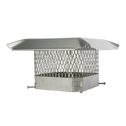 HY-C Shelter Pro Stainless Steel Chimney Cap- 5/8