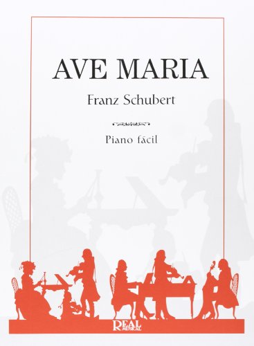 Franz Schubert: Ave María. Sheet Music for Piano