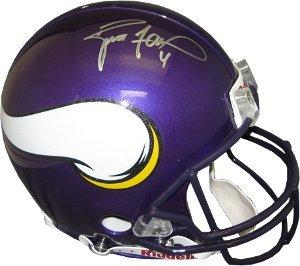 Amazon.com  Brett Favre signed Minnesota Vikings Proline Authentic Helmet-  Favre Hologram  Sports Collectibles fa579e082