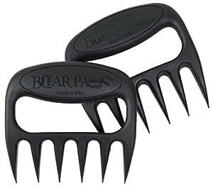 Original BEAR PAWS Pulled Pork Shredder Claws - BBQ Meat Handler Forks