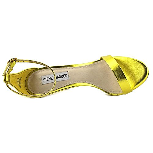 Steve Madden Womens Stecy-M Dress Sandal Yellow