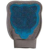 Petmate 89800 Furbuster 3-in-1 Cat Grooming Glove, Teal