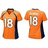 NEW Women jerseys Denver Broncos Peyton Manning Orange ELITE Jersey (Medium)