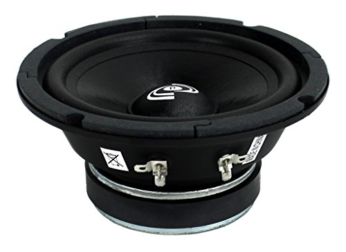 2) Pyle PDMR6 6.5'' 600W Car Mid Bass MidRange Woofer Audio Speakers 8 Ohm Black by Pyle (Image #3)