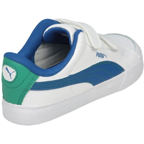 Puma Court Point V Kids Weiß/BLAU 351222 15 (22)
