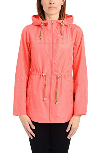 Details Womens Lightweight Pack-it-in-a-Pouch Water-Resistant Jacket