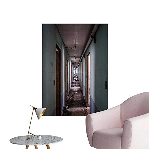 - Wall Stickers for Living Room Interior Hallway of Korean Psychiatric Hospital Asylum Nostalgic Vinyl Wall Stickers Print,20