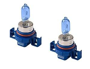 Putco 230001NB Pure Halogen Fog Light Bulb - Nitro Blue - H16 (Pair)