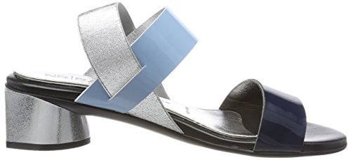 Nr Rapisardi Damen Ulma Slingback Sandalen Blau (marine / Blauw Ecopatent)