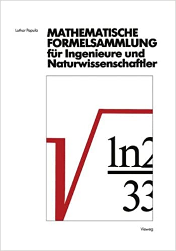 Mathematische formelsammlung f r ingenieure und for Finite elemente analyse fur ingenieure pdf