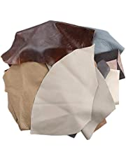 Leather Scraps 1 kg Various Shades of Assorted Craft Pieces Ideal for Any Craft Work Random Color