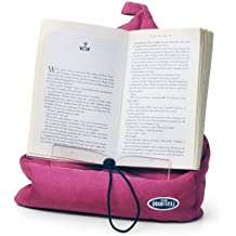 The Book Seat - Book Holder and Travel Pillow - Pink