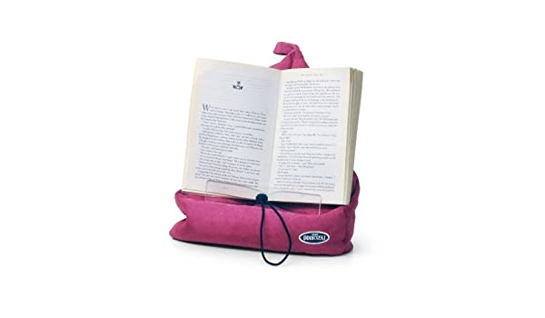 The Book Seat - Book Holder and Travel Pillow - rosa: Amazon ...
