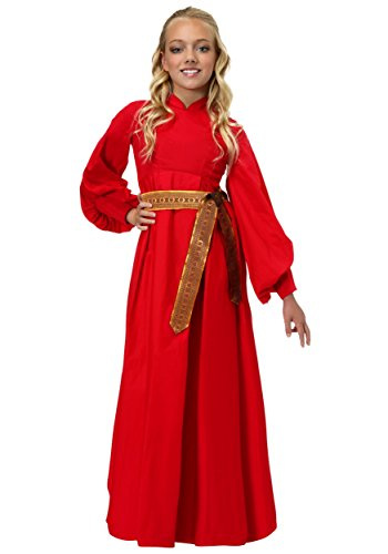 Girls Buttercup Peasant Dress Costume - L