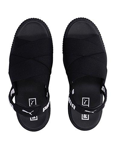 Platform Puma Femmes Sandales Nero Sandal w6w7qgXZ