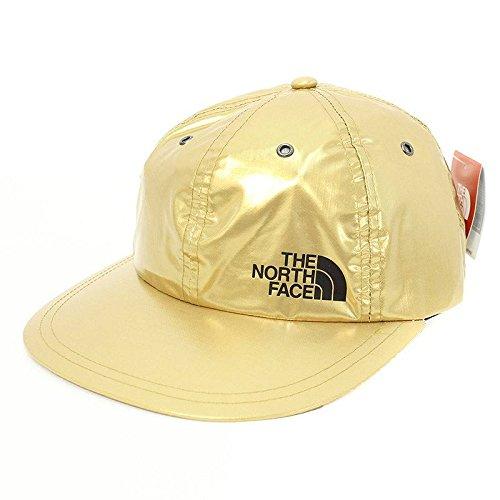 (シュプリーム) SUPREME ×ノースフェイス/THE NORTH FACE 【18SS】【Metallic 6-Panel Hat】メタリック6パネルキャップ(ゴールド) 中古 B07FVGHT76  -