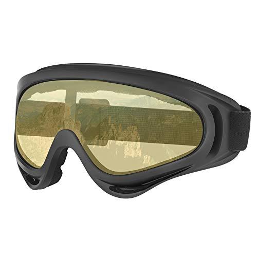 HDE Ski Snowboard Goggles OTG Snow Glasses