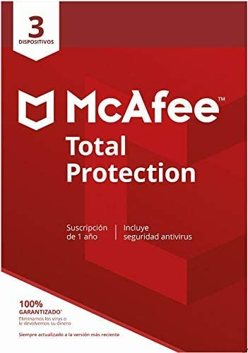 McAfee Total Protection 3 Dispositivos + SafeConnect VPN