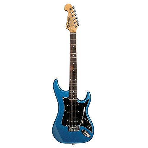 Washburn Sonamaster S2HMBL Solid-Body Electric Guitar, Metallic Blue