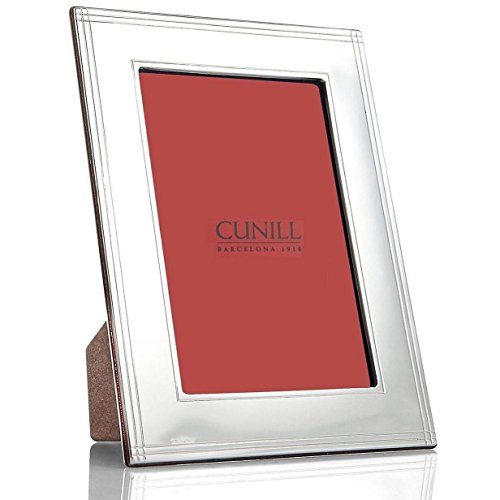 Cunill 9079 Madison 8x10'' Frame Sterling Silver Picture Frame by Cunill