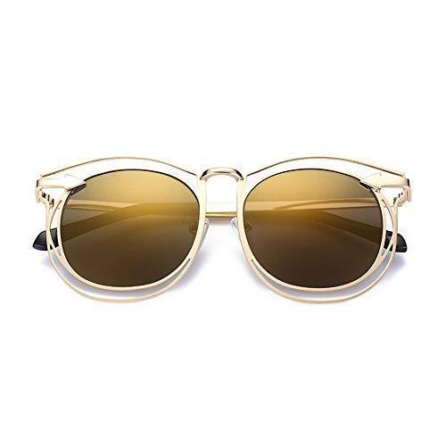lunettes de UV extérieur protection contre en ZHIRONG cadre Lunettes de polarisées plage mode 06 de voyage de métal soleil conduite Couleur 06 solaire 6q5qxwv