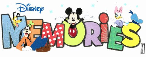 Disney Stickers For Scrapbooking - Disney Titlewave Stickers, Memories