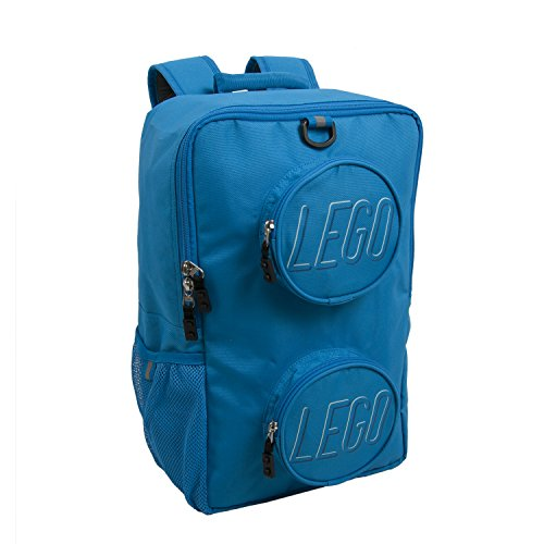 LEGO Brick Eco Backpack, Blue, One Size