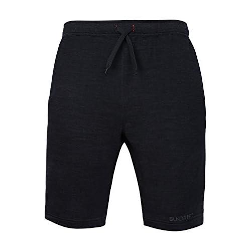 Sundried Joggers para hombre Pantalones cortos Armarios de Deportes Gimnasio Yoga informal TTtvxCqniq