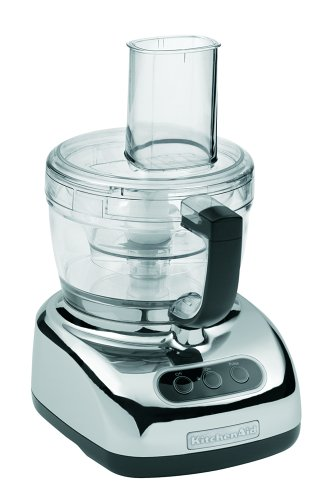 Good KitchenAid KFP740CR 9 Cup Food Processor With 4 Cup Mini Bowl, Chrome