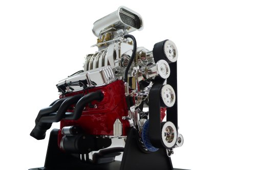 Hotrods Pro Chevy Small Block 350 Hood Scoop V8 Model