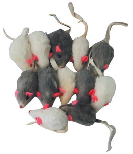 Rattling Fur Mice – 12 pack, My Pet Supplies