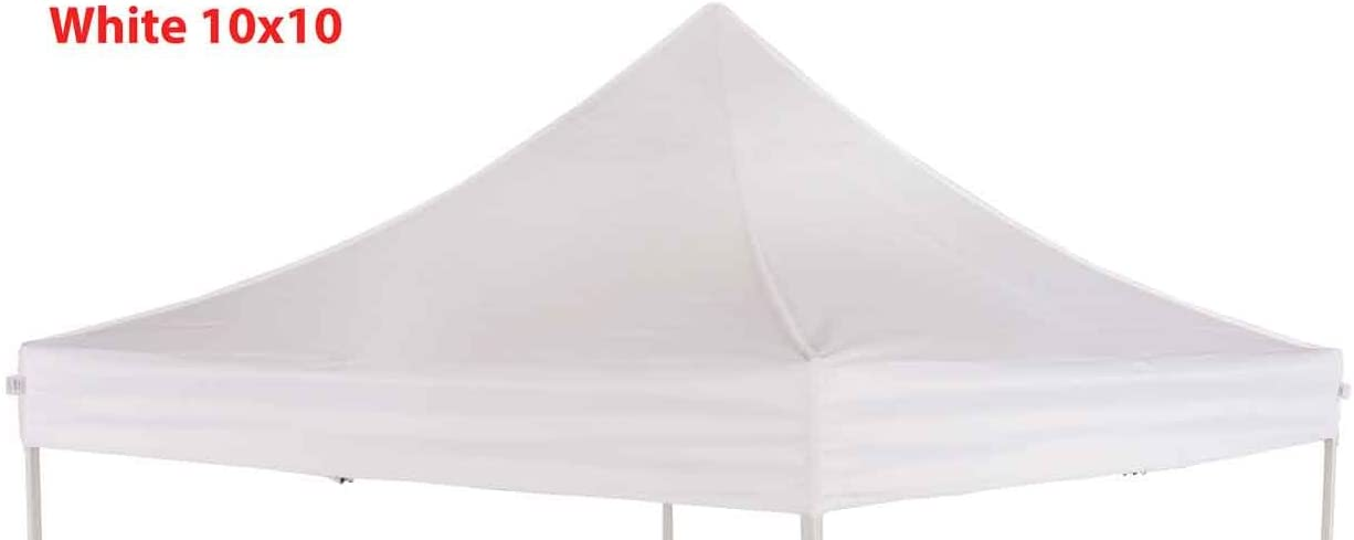 Impact Canopy Replacement Top Cover White 10×10