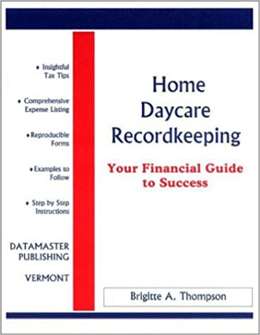 Amazon Home Daycare Recordkeeping Your Financial Guide To
