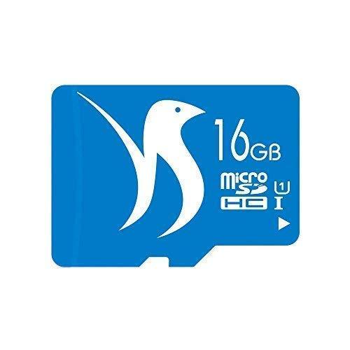 FATTYDOVE Memory Card 16GB Micro SD Card Class 10 UHS-I MicroSDHC TF Card for GoPro/Tablet/Speaker (16GB U1)
